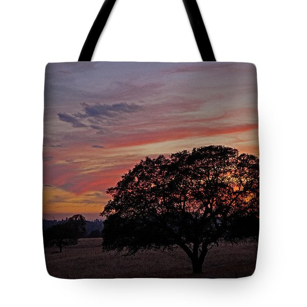 Campo Sunset Tote Bag