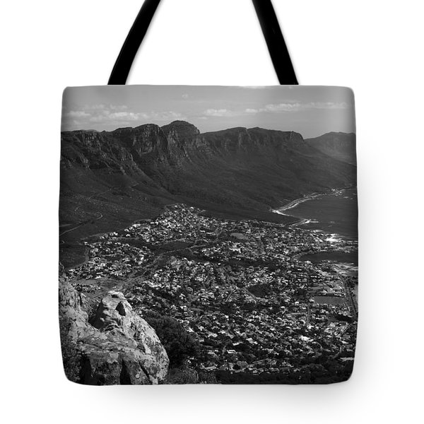 Camps Bay View Cape Town Tote Bag