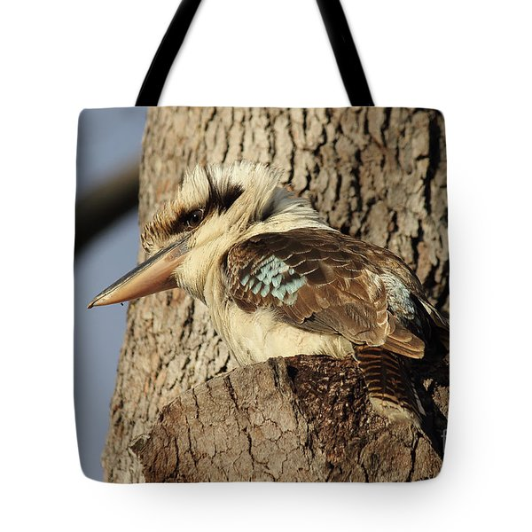 Can Anybody See Me? Tote Bag by Jola Martysz