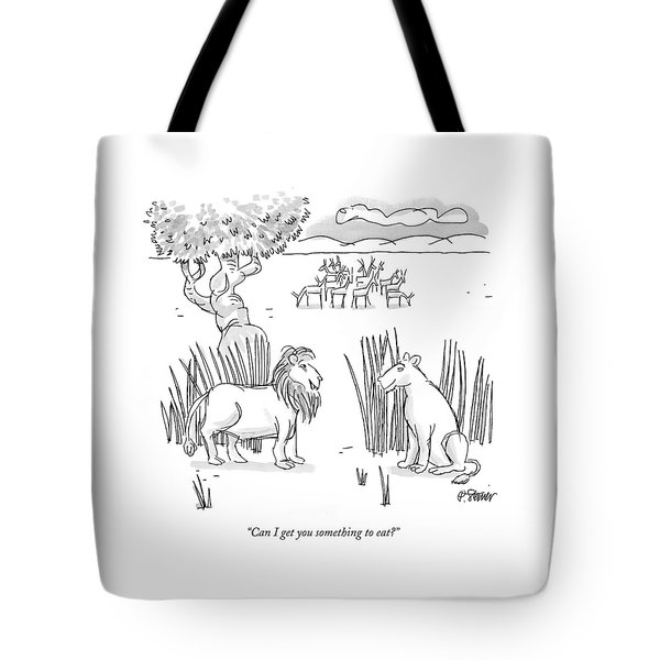 Can I Get You Something To Eat? Tote Bag
