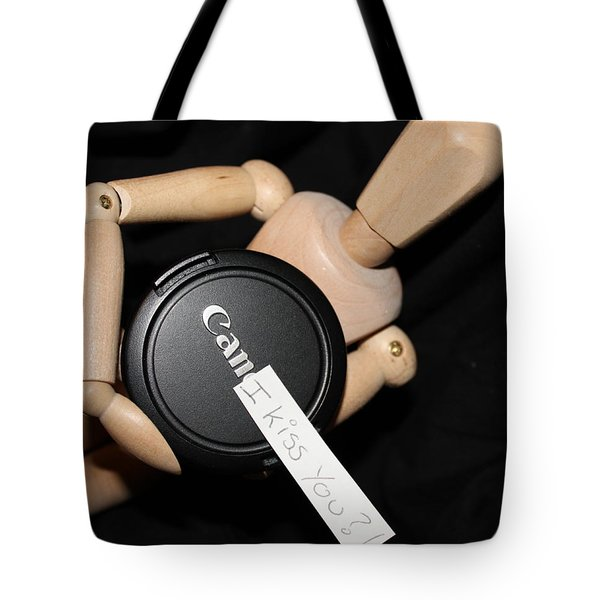 Can I Kiss You Tote Bag