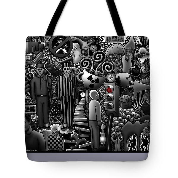 Can 'o' Worms Tote Bag