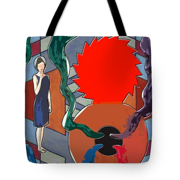 Can Of Worms Tote Bag by Patrick J Murphy