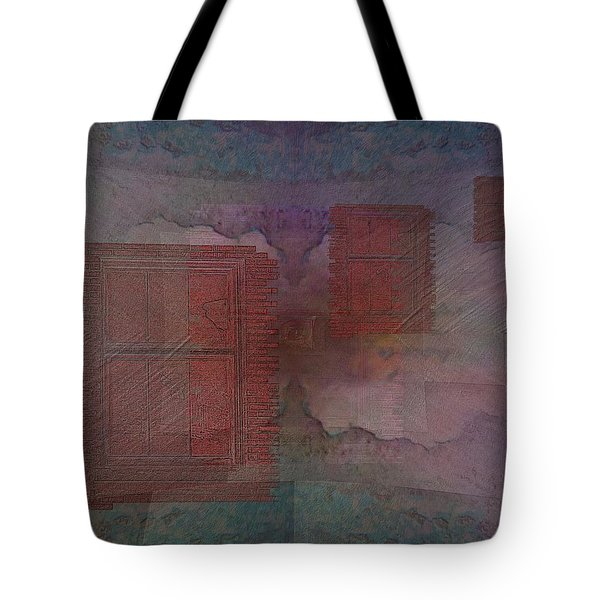 Can You Hear Me Knocking Now Tote Bag by Tim Allen