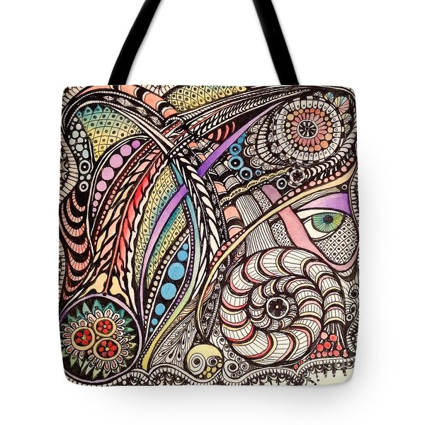 Can You See What I See Tote Bag by Iya Carson