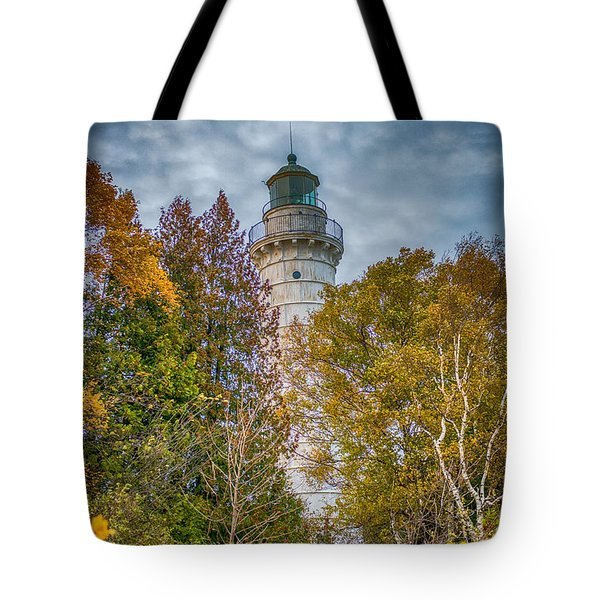 Cana Island Lighthouse II By Paul Freidlund Tote Bag