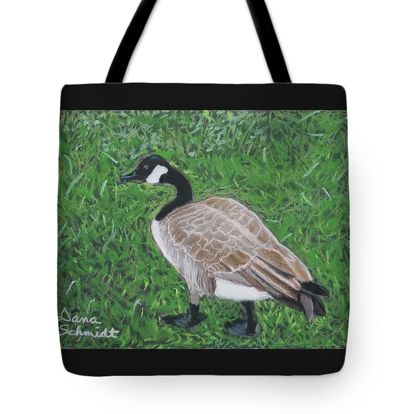 Canada Goose In Golden Gate Arboretum Tote Bag