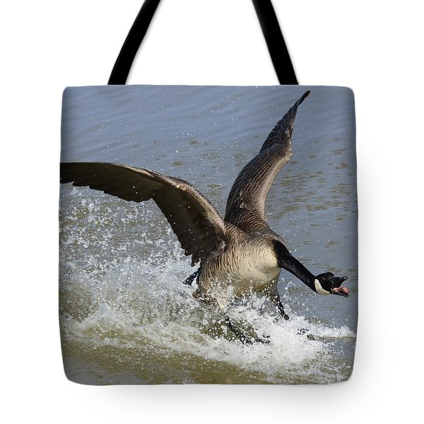 Canada Goose Touchdown Tote Bag by Bob Christopher