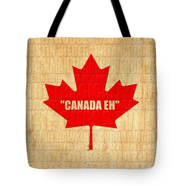 Canada Music 1 Tote Bag