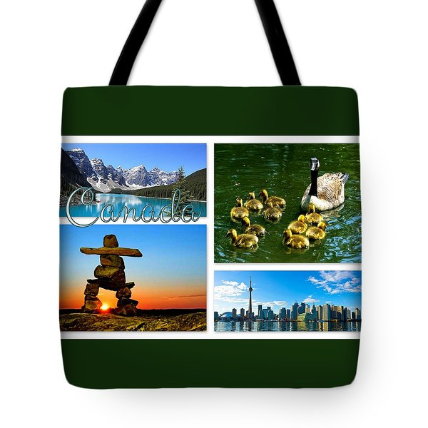 Canada Tote Bag by The Creative Minds Art and Photography