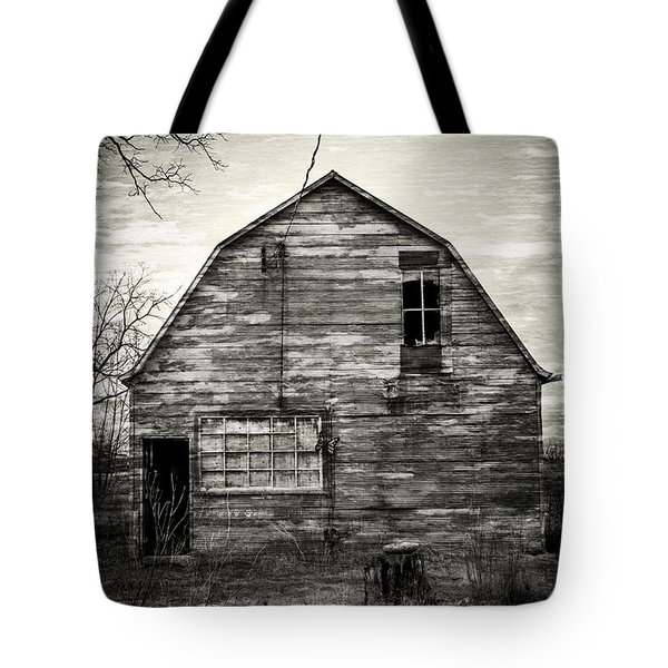 Canadian Barn Tote Bag