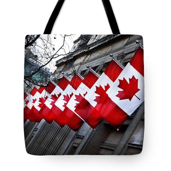Canadian Embassy London Tote Bag by Mark Rogan