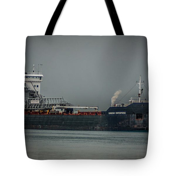 Canadian Enterprise Tote Bag by Ronald Grogan