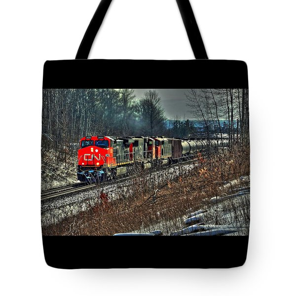 Canadian National Railway Tote Bag