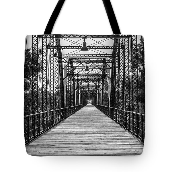 Canadian River Bridge Tote Bag