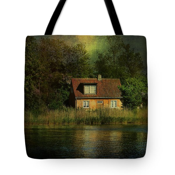 Canal Cottage Tote Bag