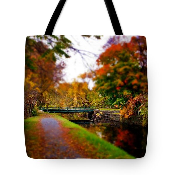 Canal Dream Tote Bag by Rodney Lee Williams