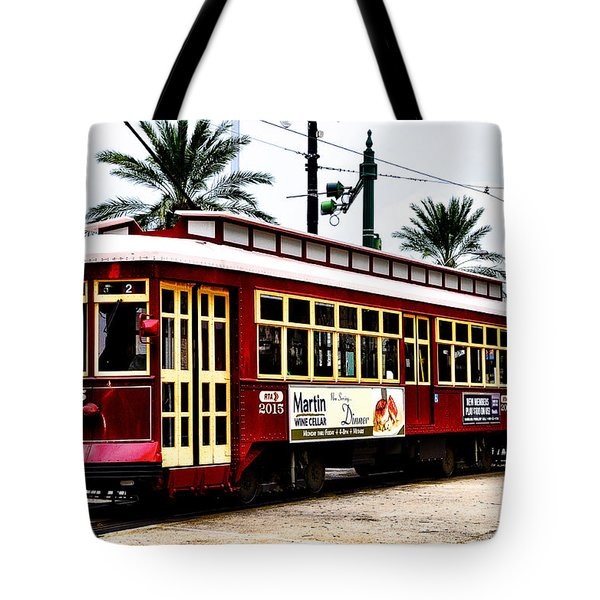 Canal Street Car Tote Bag by Bill Cannon