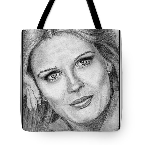 Candace Bergen In 1976 Tote Bag by J McCombie