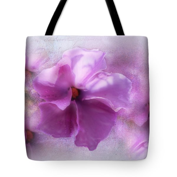 Tote Bag featuring the photograph Candice by Elaine Teague