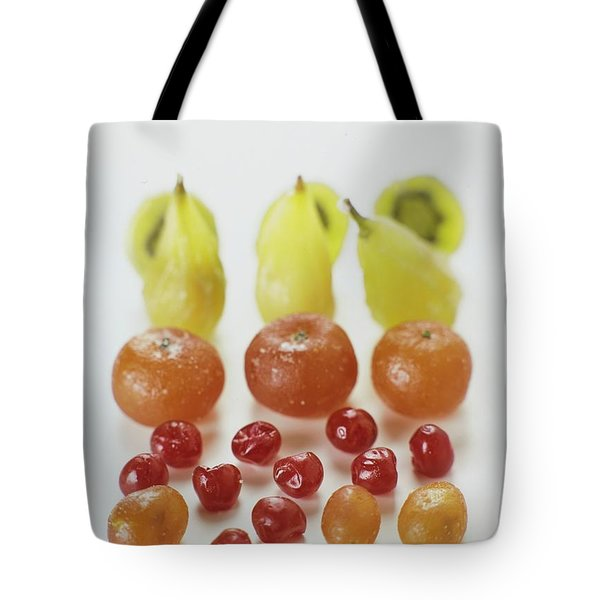 Candied Fruit Tote Bag