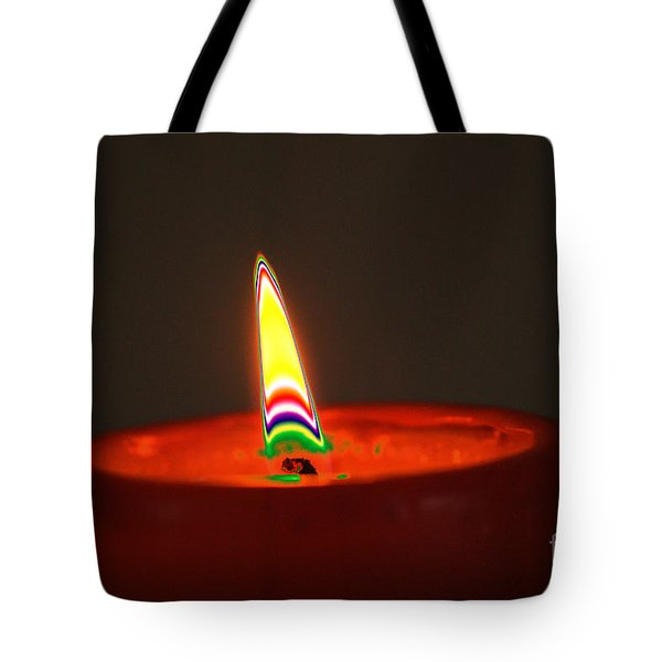 Candle Light Tote Bag by Carol Lynch