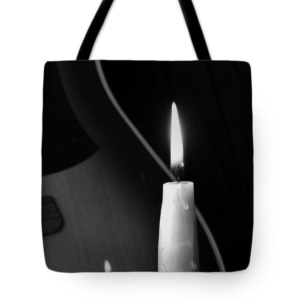 Candle Light Serenade Tote Bag
