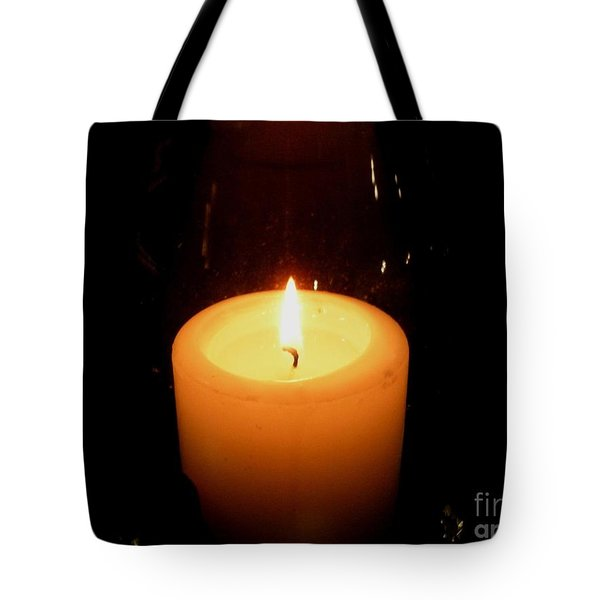 Candlelight Moments Tote Bag