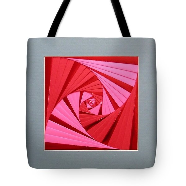 Candy Cane Tote Bag by Ron Davidson