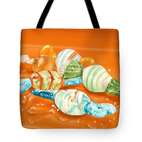 Candy Tote Bag by Veronica Minozzi