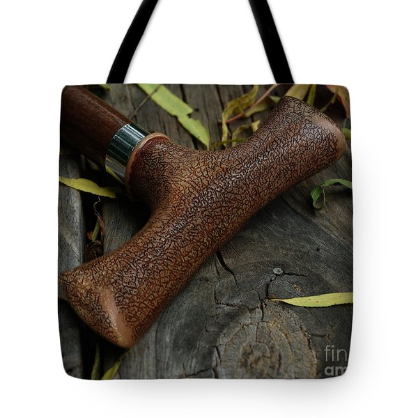 Tote Bag featuring the photograph Cane And I by Peter Piatt