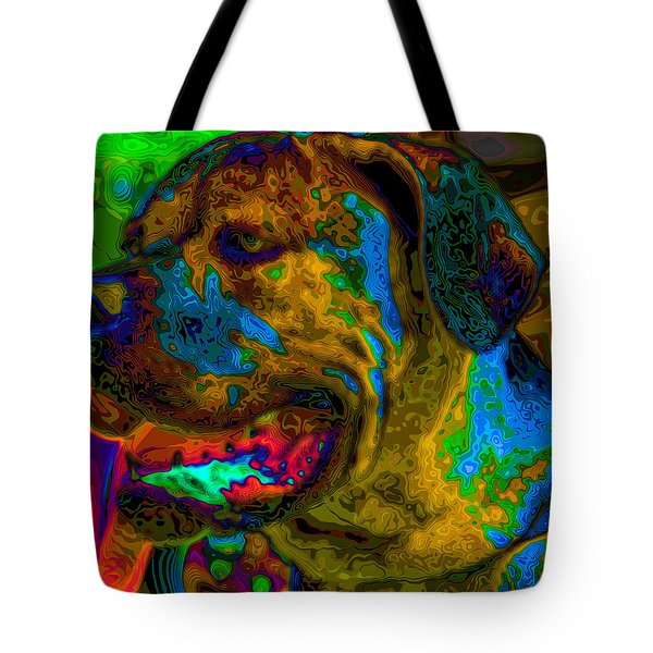 Cane Corso Pop Art Tote Bag by Eti Reid