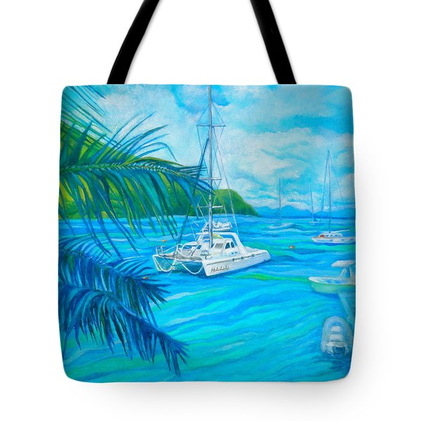 Cane Garden Bay Tote Bag