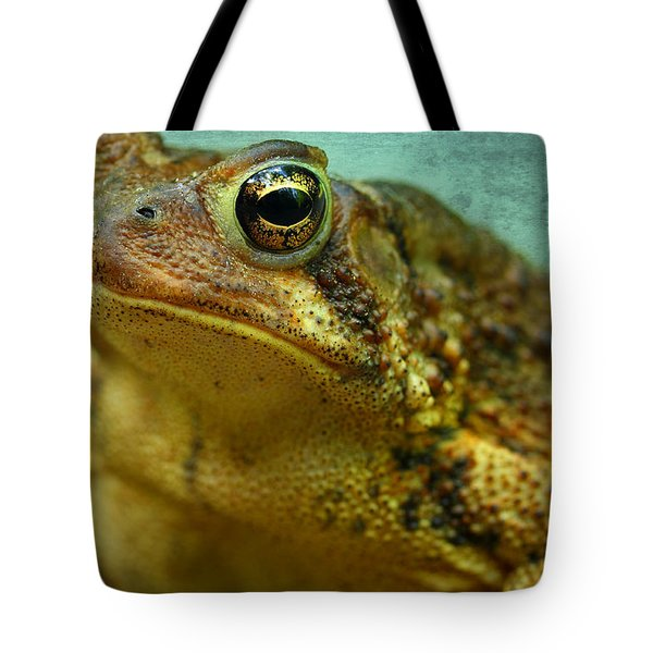 Cane Toad Tote Bag by Michael Eingle