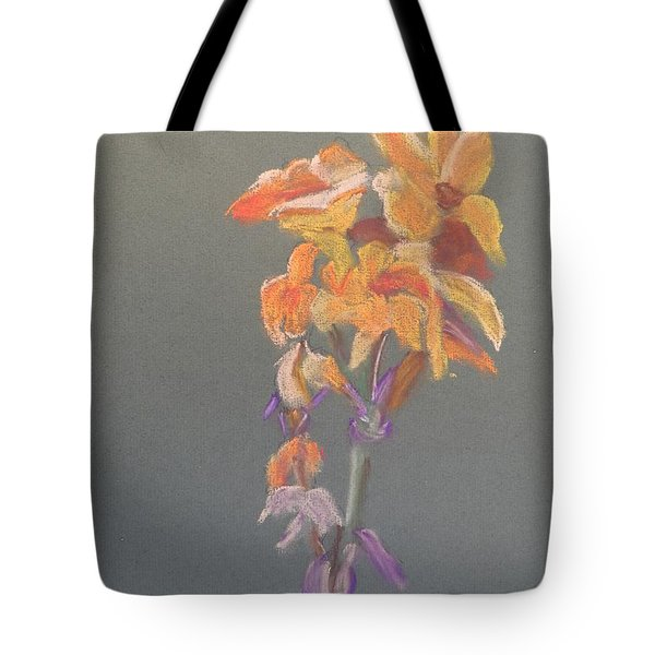 Canna Tote Bag by Pamela  Meredith