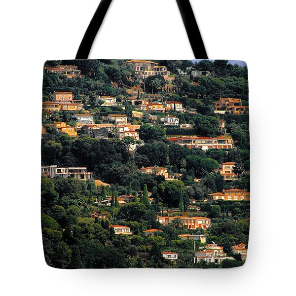 Cannes - Life Which Everybody Dreams Of Living Tote Bag by Christine Till