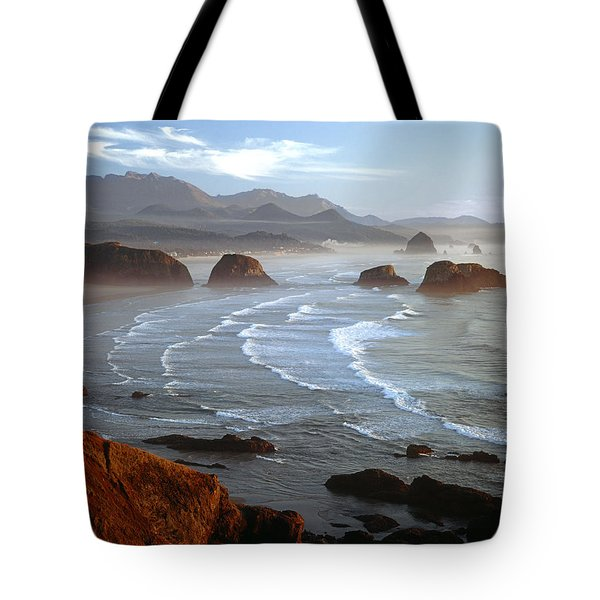 Cannon Beach At Sunset Tote Bag