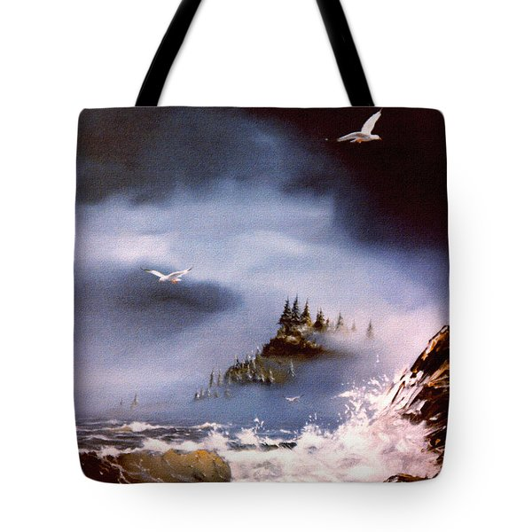 Cannon Beach Oregon Tote Bag