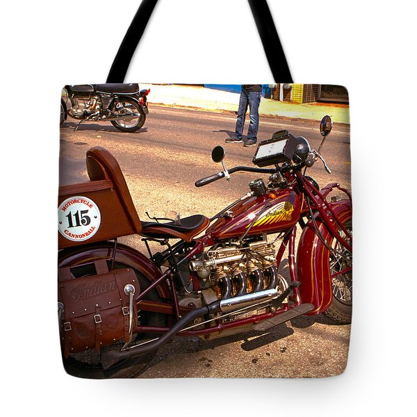 Cannonball Indian #115 Tote Bag