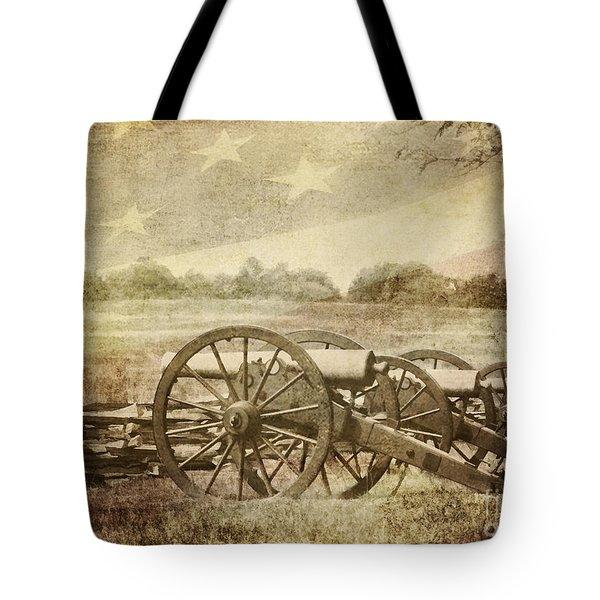 Cannons At Pea Ridge Tote Bag