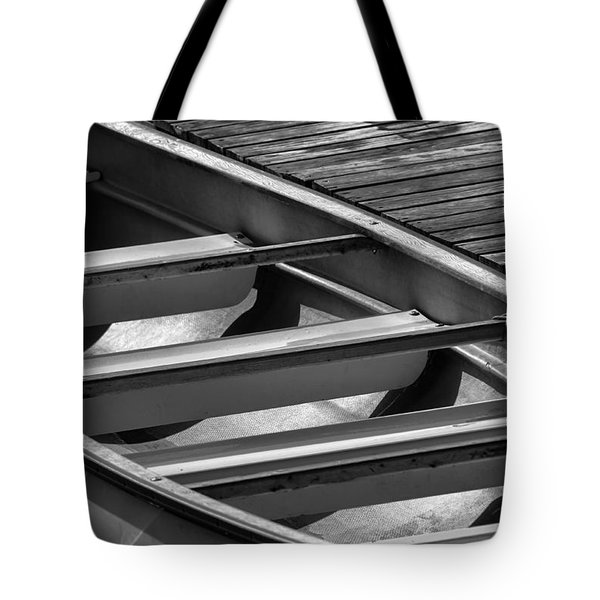Canoe 2 Tote Bag by Jeff Breiman