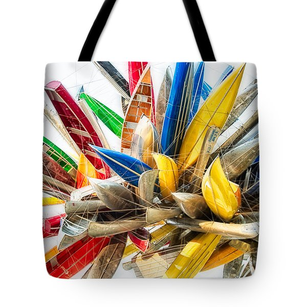 Canoe Art II Tote Bag
