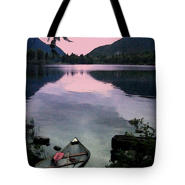 Canoe Day Tote Bag