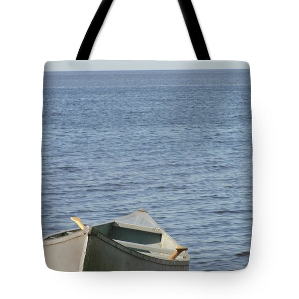 Tote Bag featuring the photograph Canoe by Tiffany Erdman