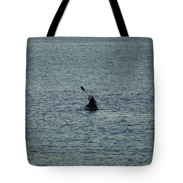 Tote Bag featuring the photograph Canoeing In The Florida Riviera by Rafael Salazar