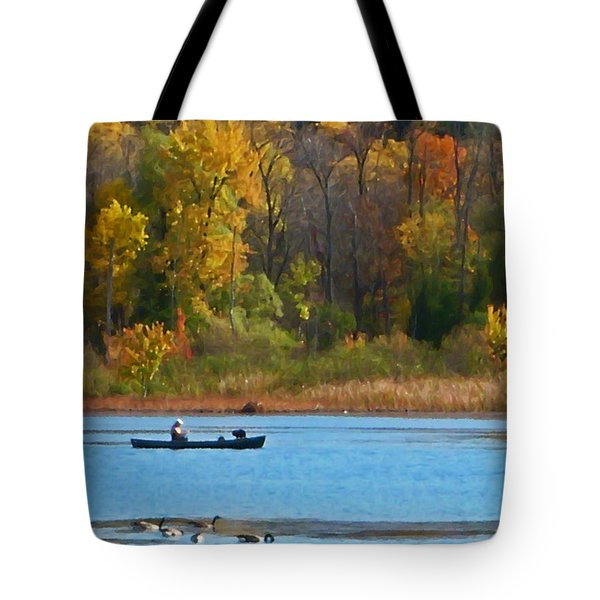 Canoer 2 Tote Bag by Aimee L Maher Photography and Art Visit ALMGallerydotcom