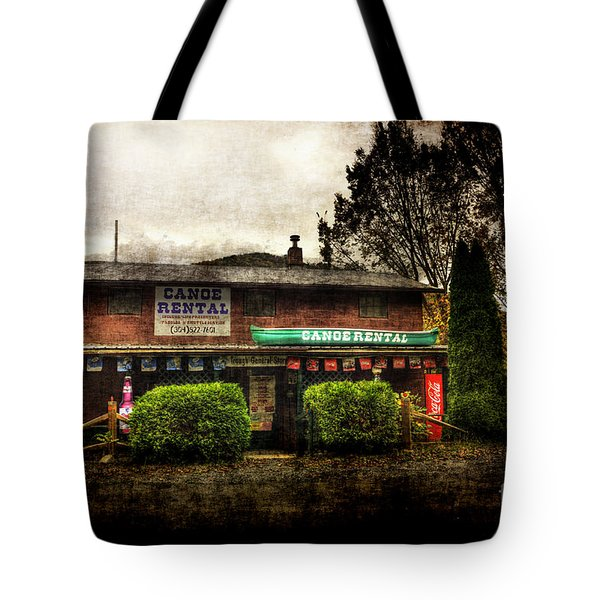 Canoes For Rent Tote Bag by Dan Friend