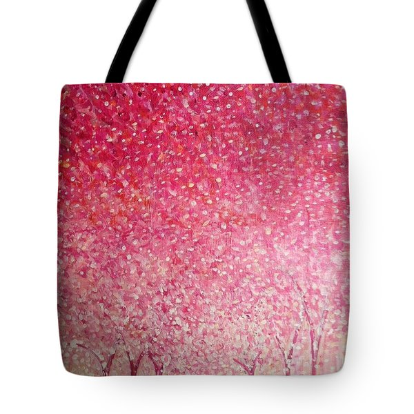 Canopy Of Love Tote Bag