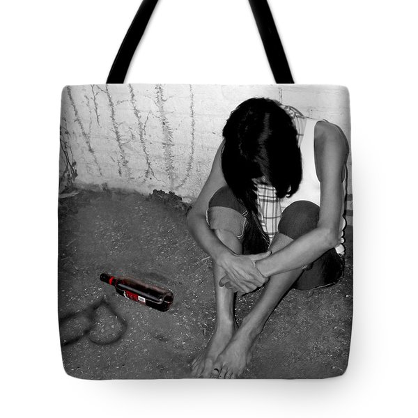 Can't Drink You Off My Mind Tote Bag by Kristie  Bonnewell