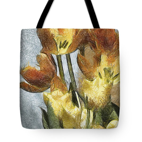 Can't Wait For Spring Tote Bag by Trish Tritz